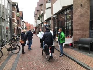 GroenLinks en D66 Apeldoorn in gesprek over Kapelstraat