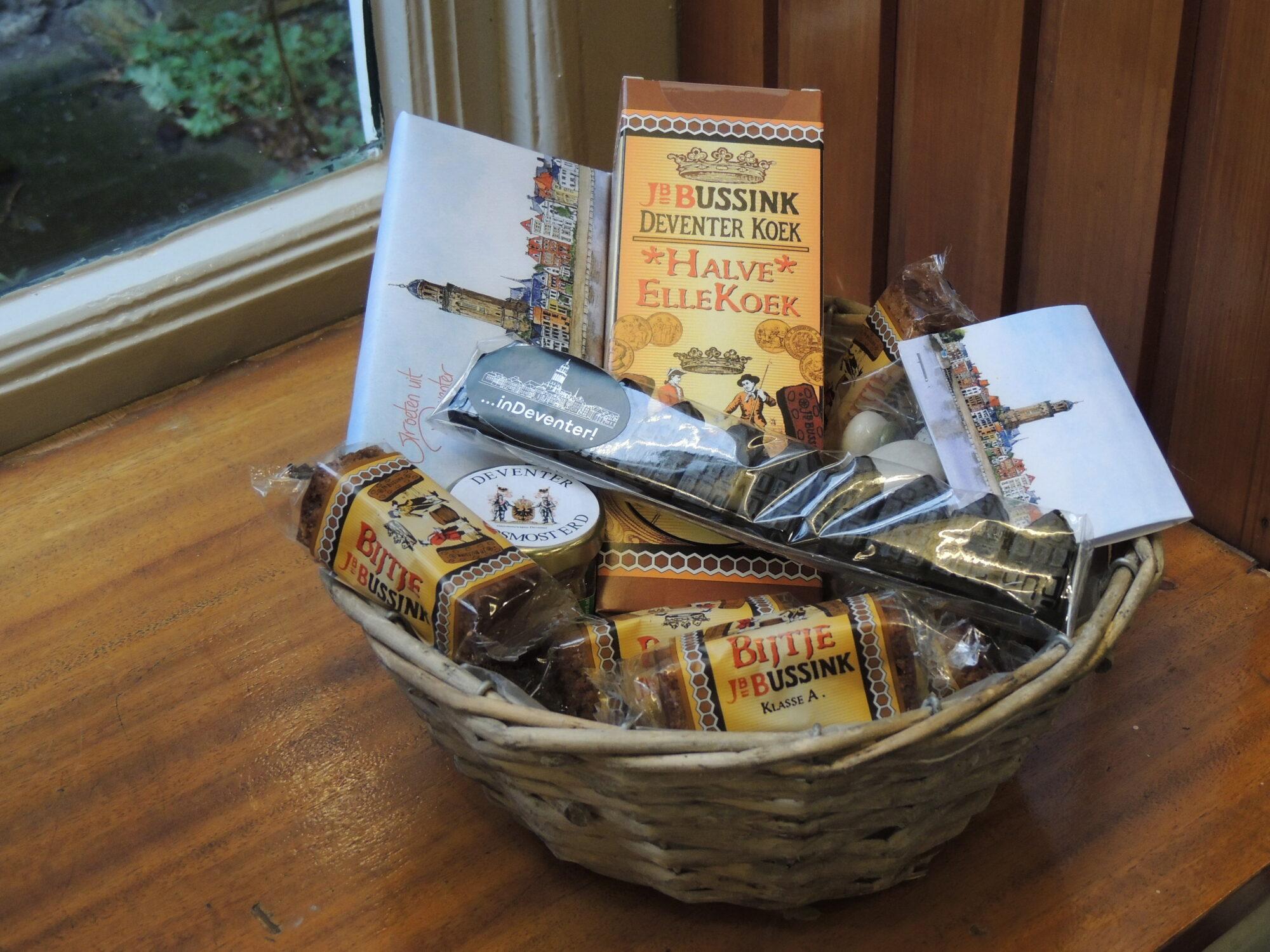 VVV Tip van de Week: Geschenkpakket met gratis koek