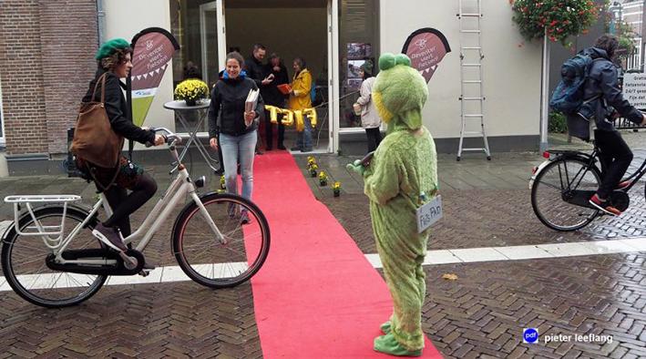 Feestje met de fiets