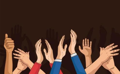 Oproep applaus voor diegenen die ons land draaiende houden