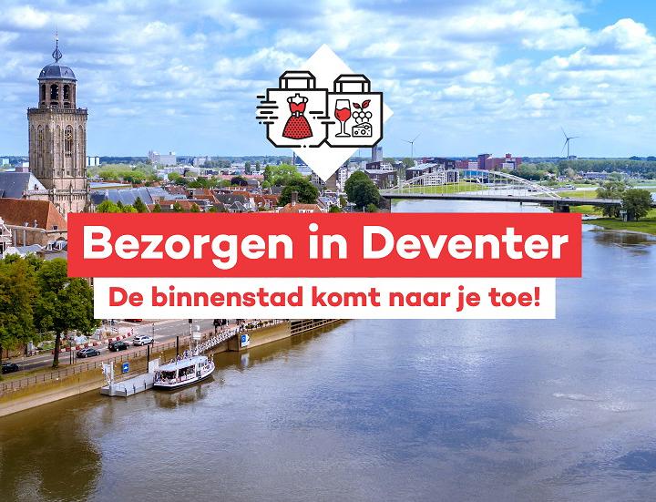 Winkelen in Deventer vanuit je luie stoel