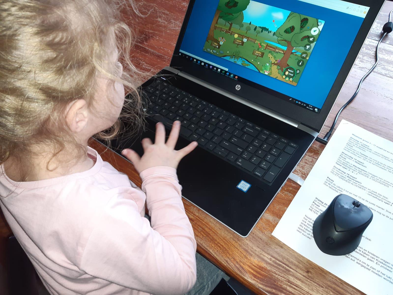 Leerlingen De Bongerd Oene blij met ervaring in digitaal onderwijs