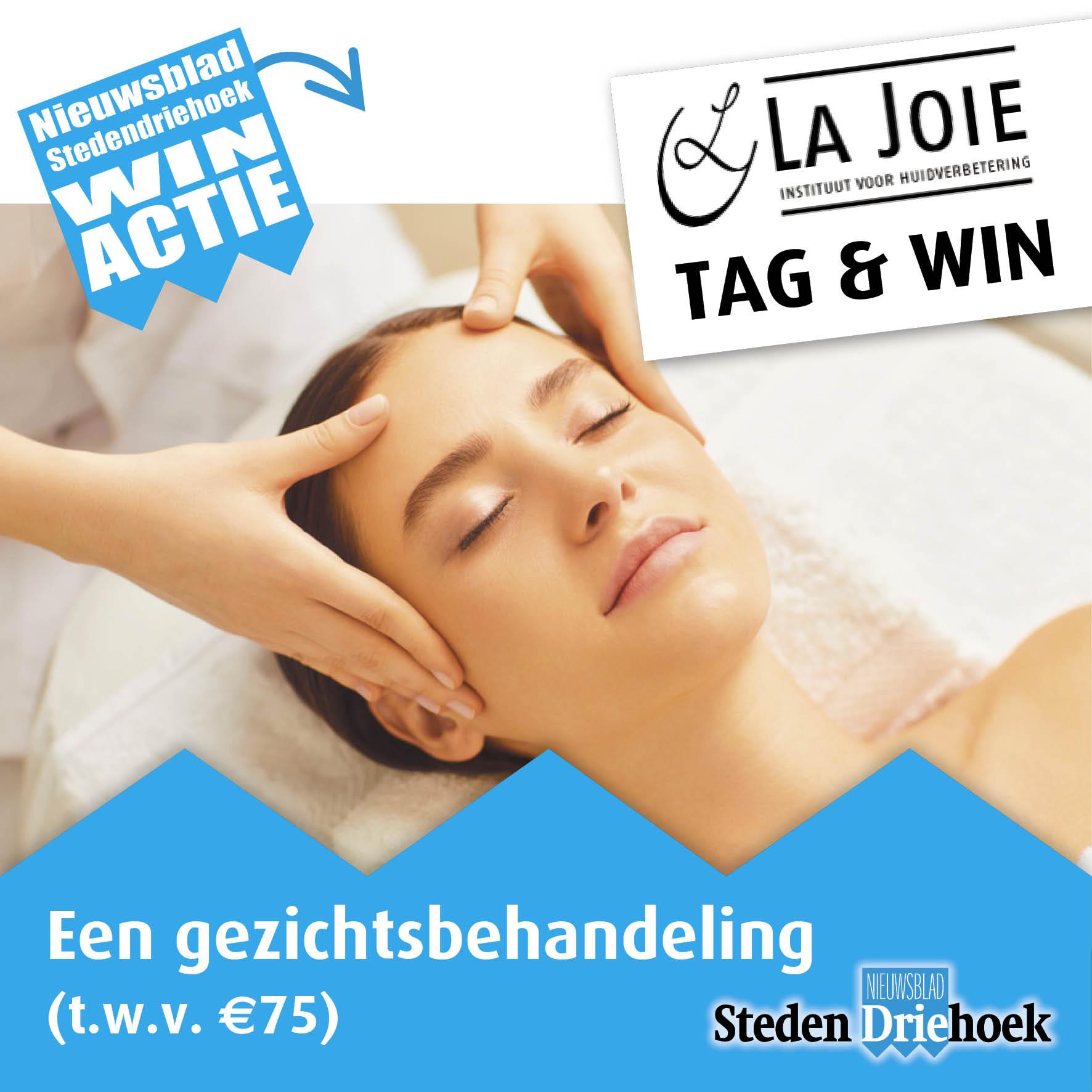 Win een gezichtsbehandeling t.w.v. 75 euro bij La Joie