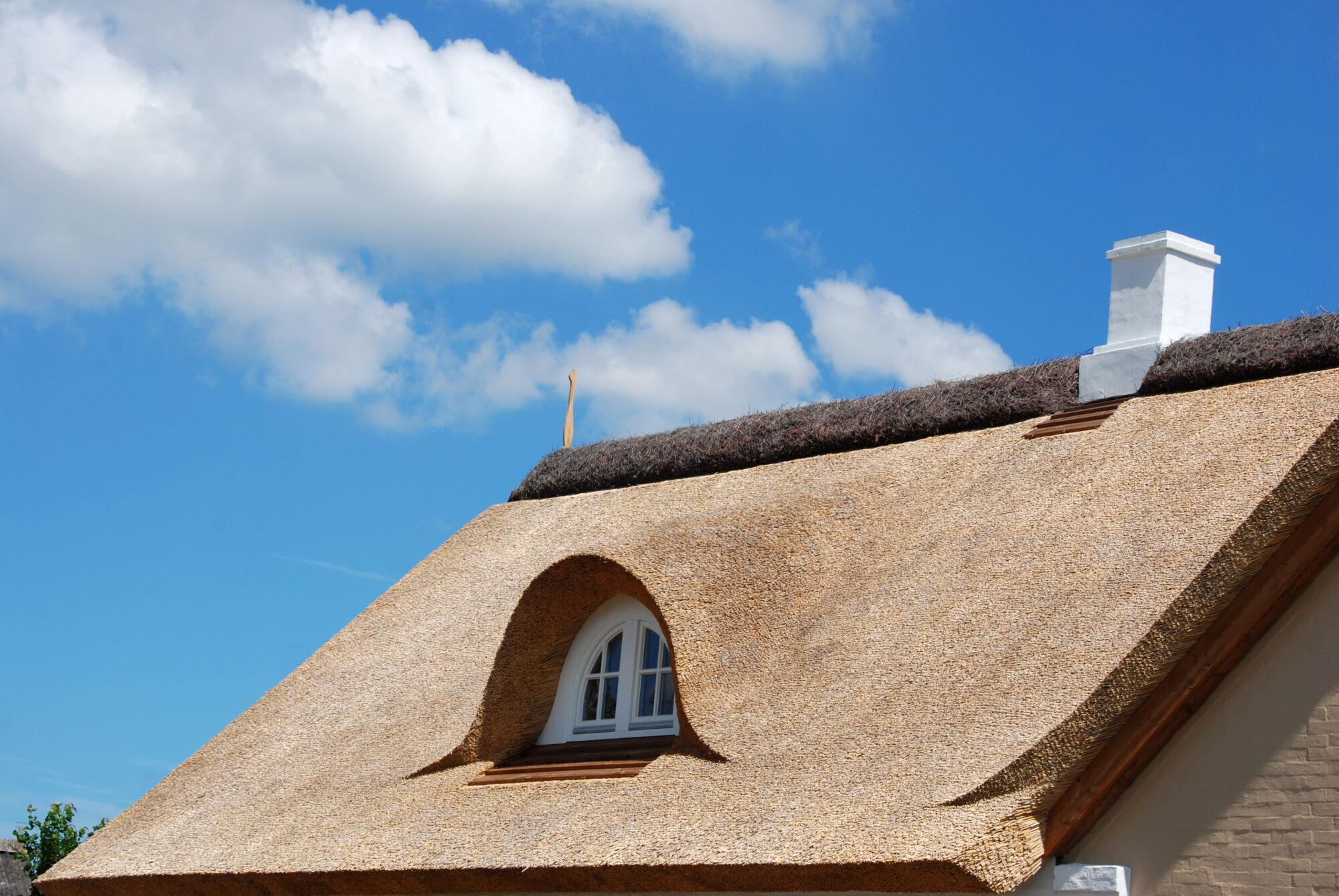 Stookalarm voor rietgedekte woningen