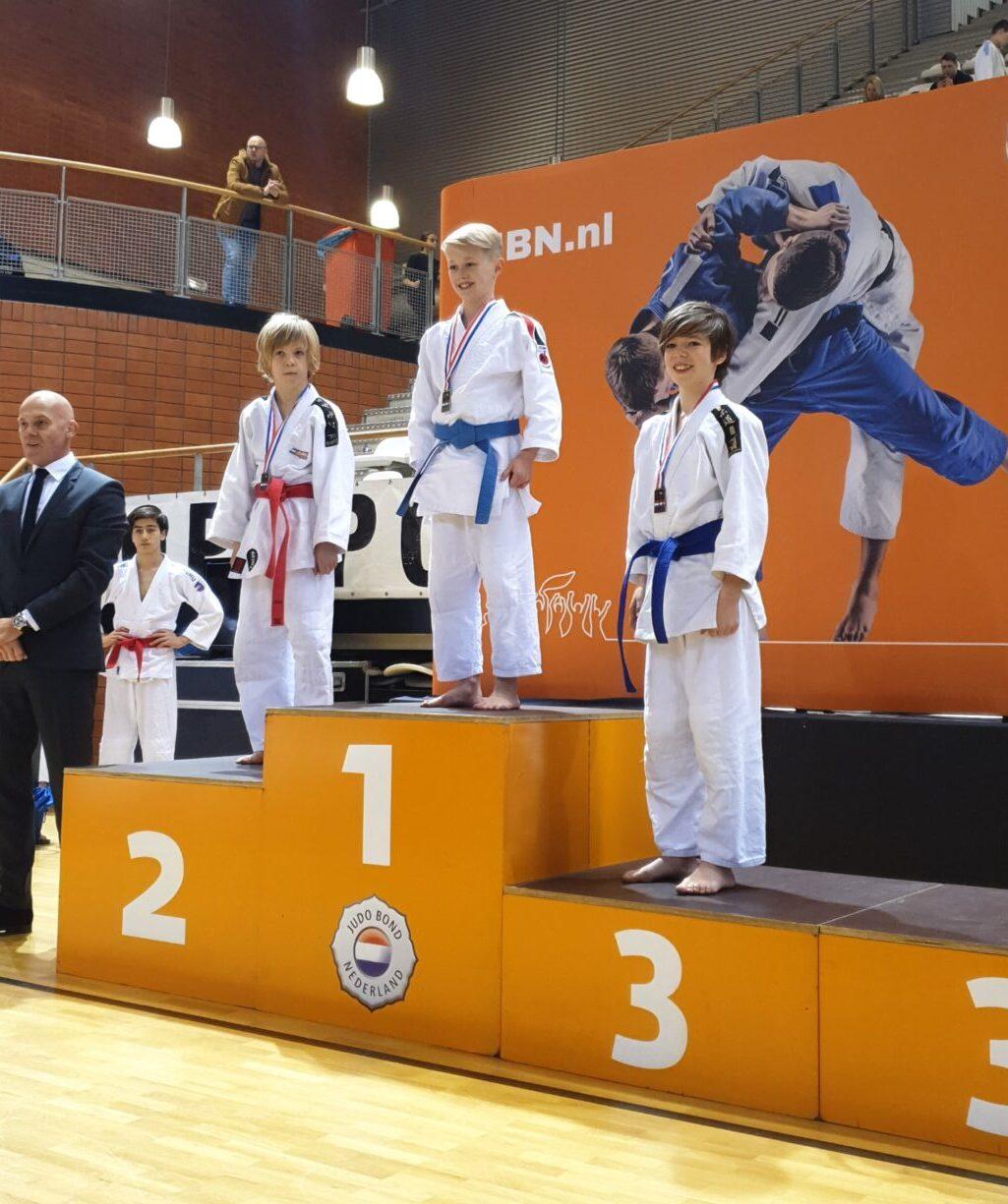 Sakura Budo leerlingen behalen vier podiumplaatsen