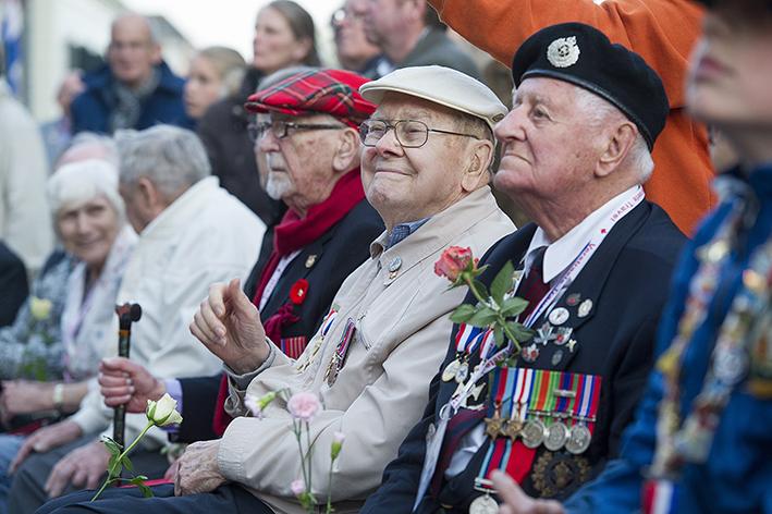 Optreden voor de veteranen