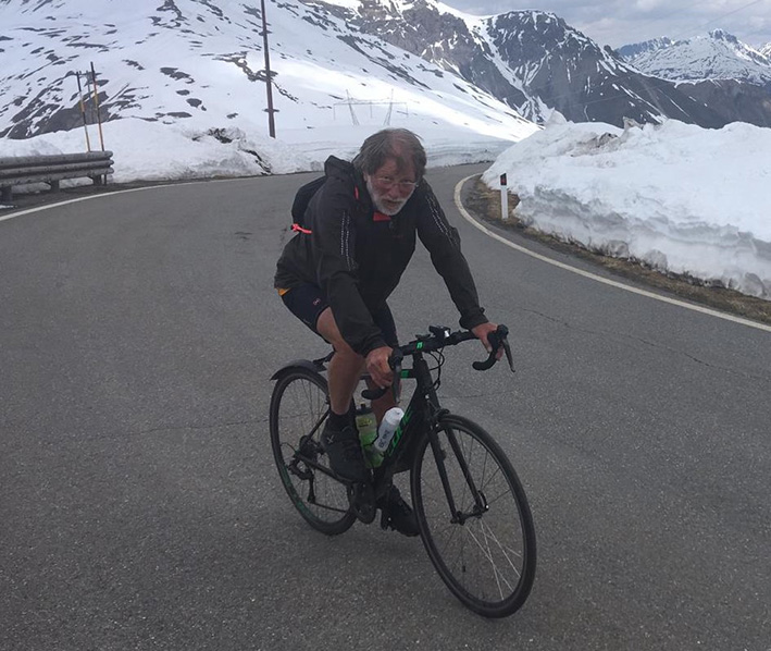 Met passie door Europa fietsen voor Onze DROOM
