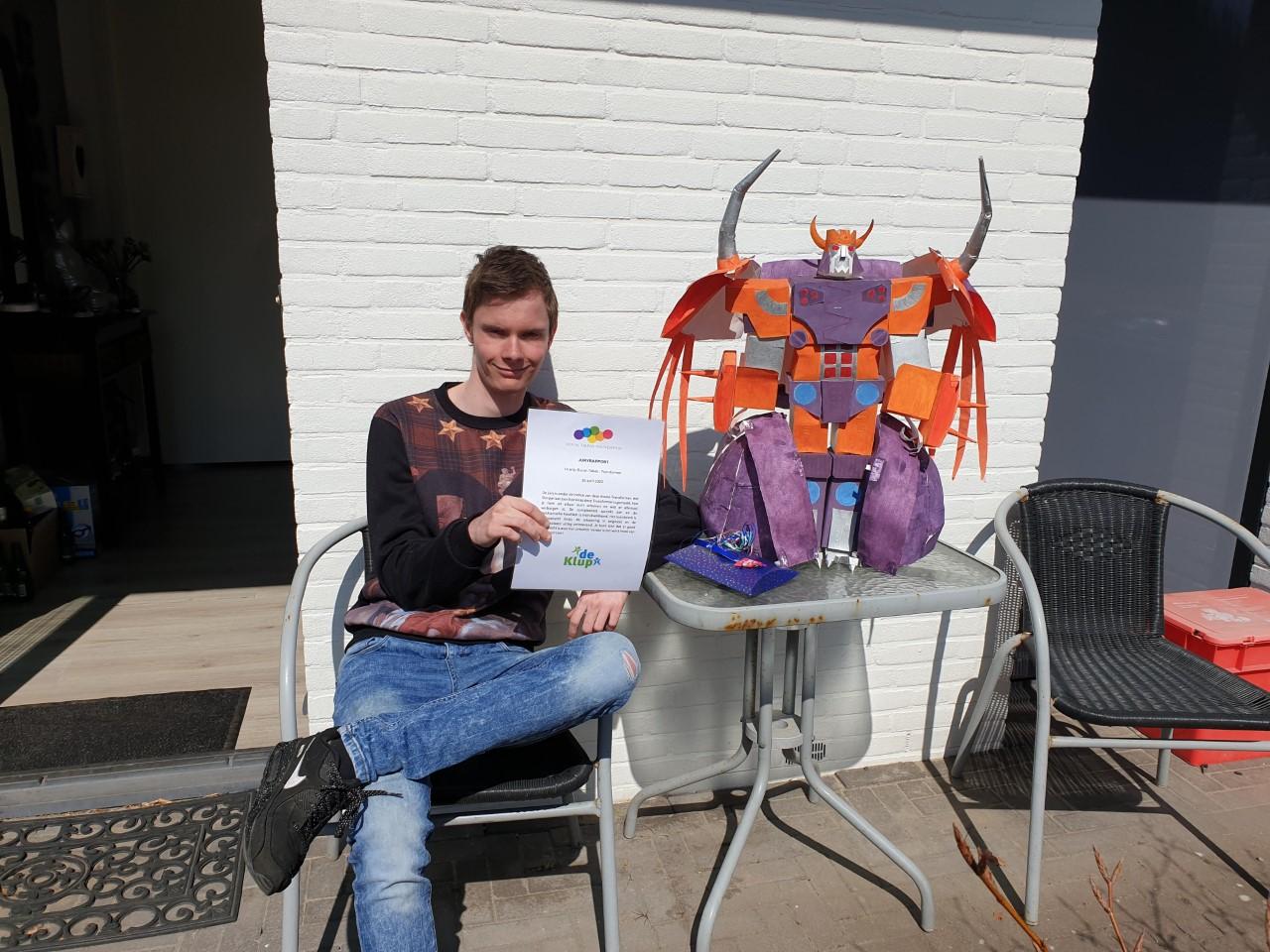 Eerste hoofdprijs Thuiskunst-wedstrijd voor Duncan Smit