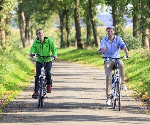 Koninklijke fietstocht door de bossen van Apeldoorn