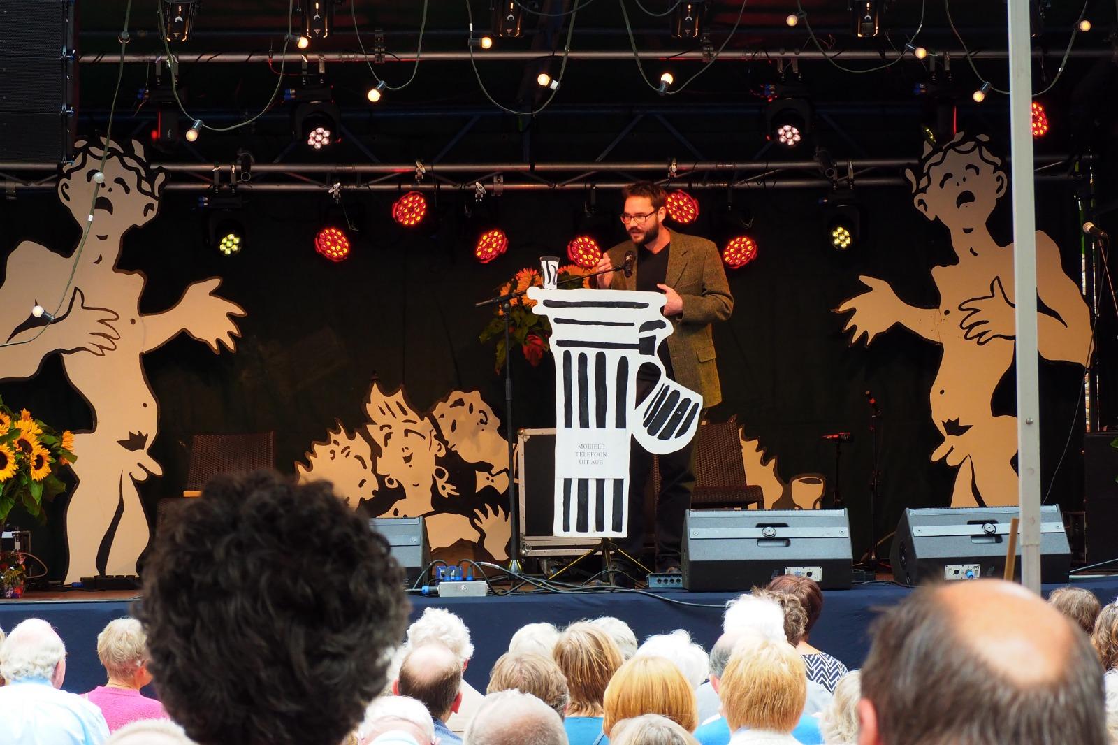 Poëziefestival Het Tuinfeest geannuleerd