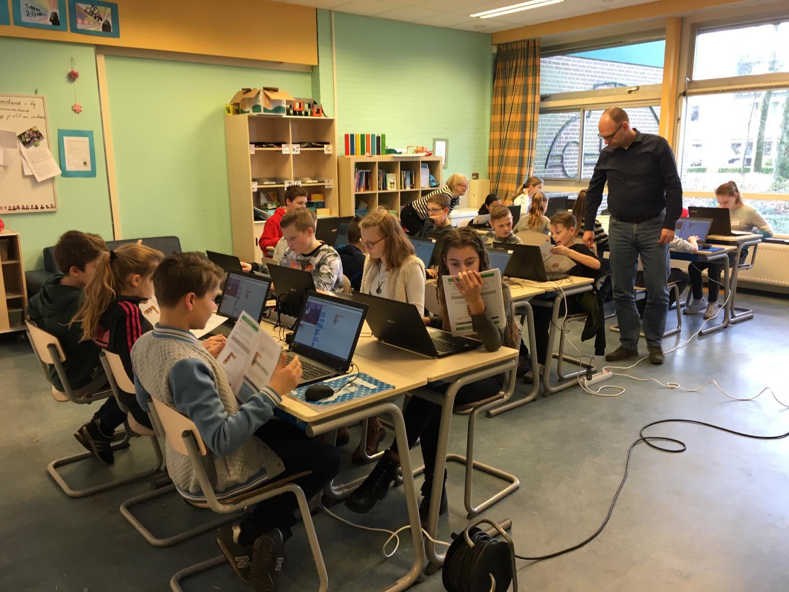 Rotary Apeldoorn Zuid sponsort Codeclub Apeldoorn