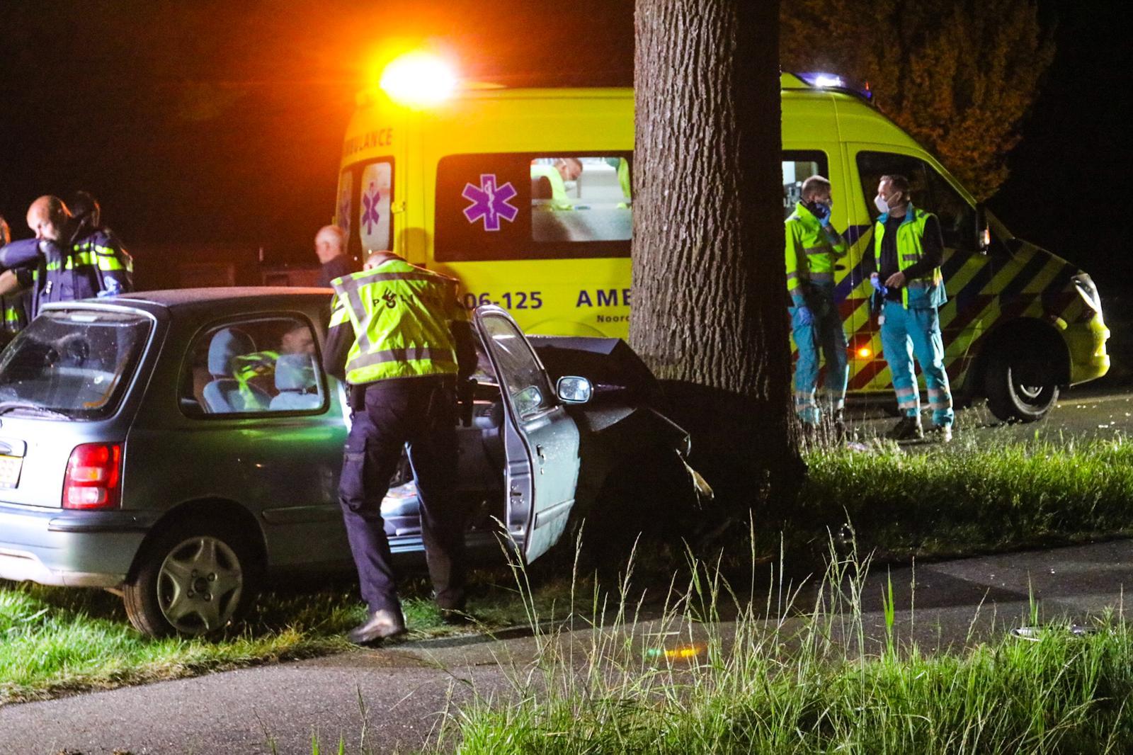 Bestuurder raakt ernstig gewond bij eenzijdig ongeval op de Zutphenseweg
