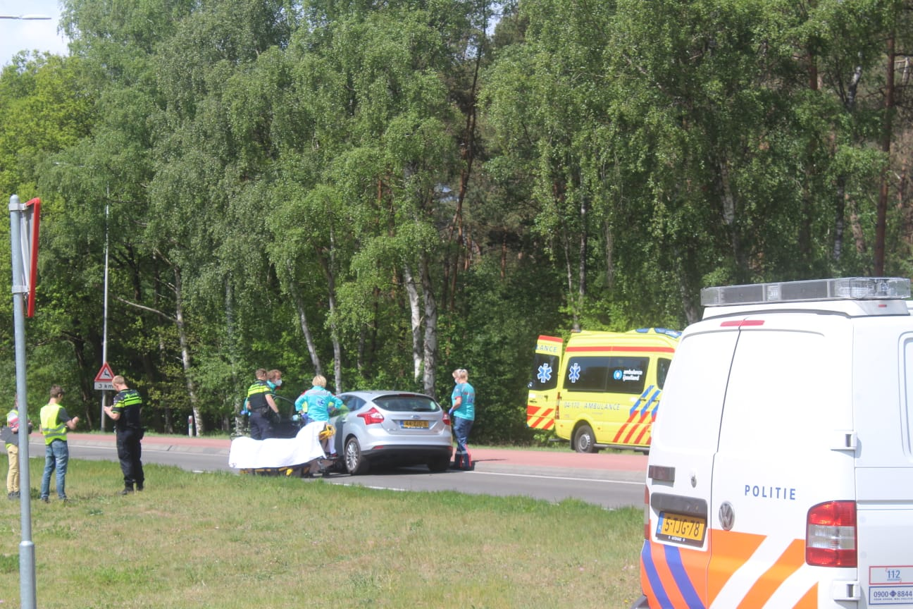 *VIDEO* Twee gewonden bij ongeval in Warnsveld
