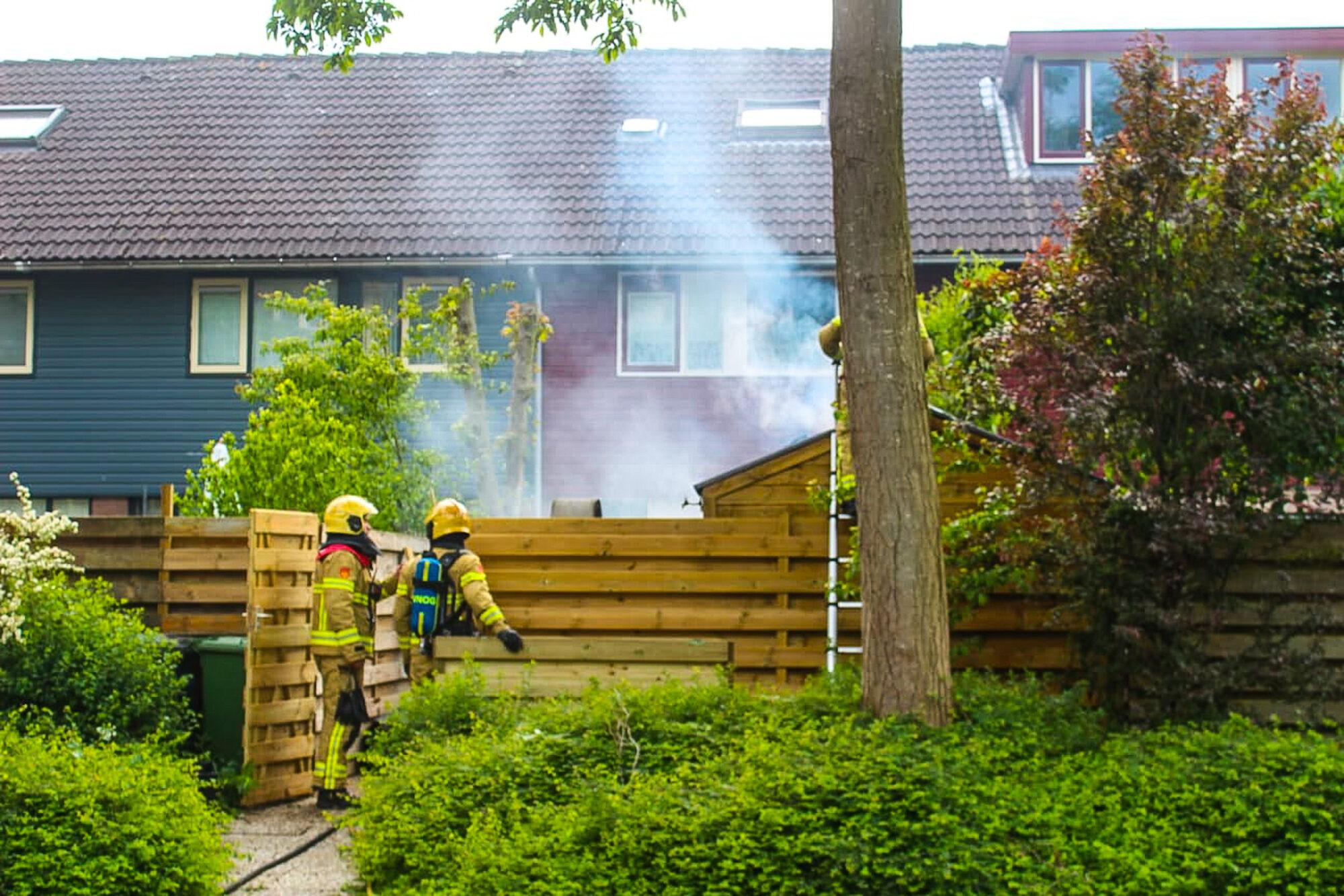 Veel rookontwikkeling bij schuurbrand in Zutphen