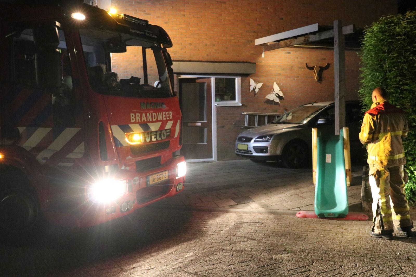 Brandweer gealarmeerd voor een 'meting' aan Magistratenveld