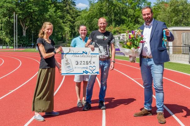CoronaRUN levert € 32.285 op voor het Nationaal Ouderenfonds