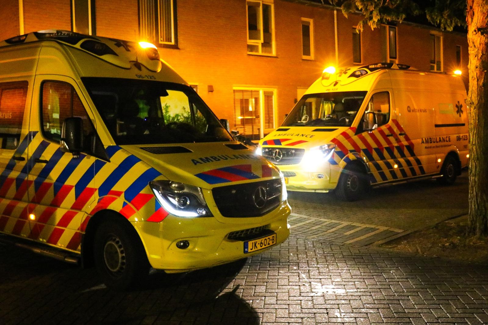 Hulpdiensten rukken groots uit voor medische noodsituatie in Apeldoorn