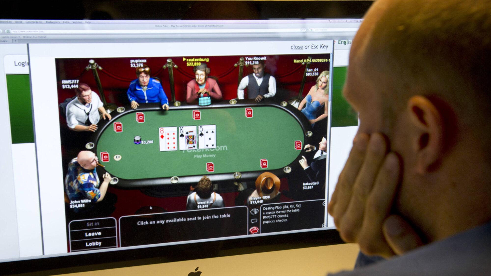 'Veel mensen wijken uit naar online gokken'