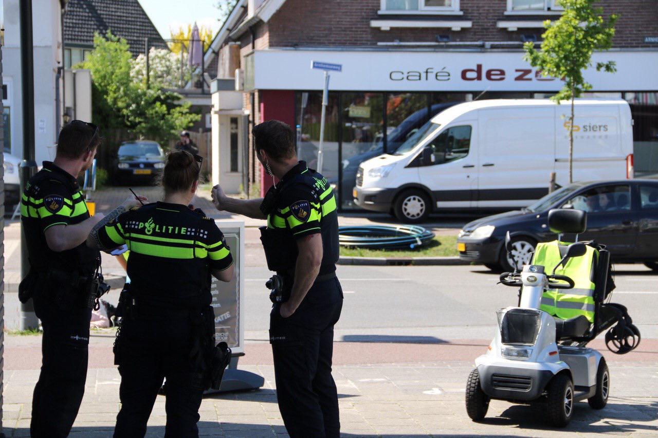 Oudere vrouw raakt gewond bij ongeval op Arnhemseweg.