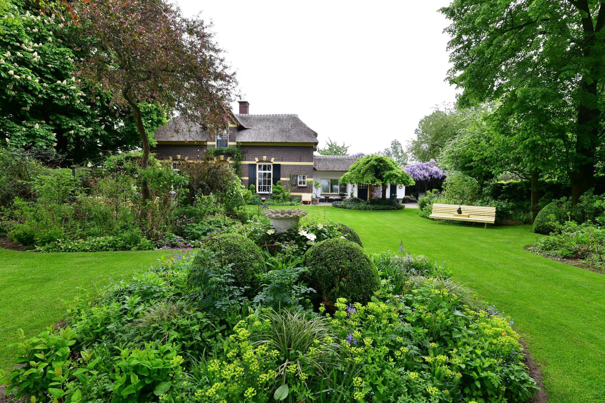 Start open tuin seizoen bij De Roode Hoeve Nijbroek