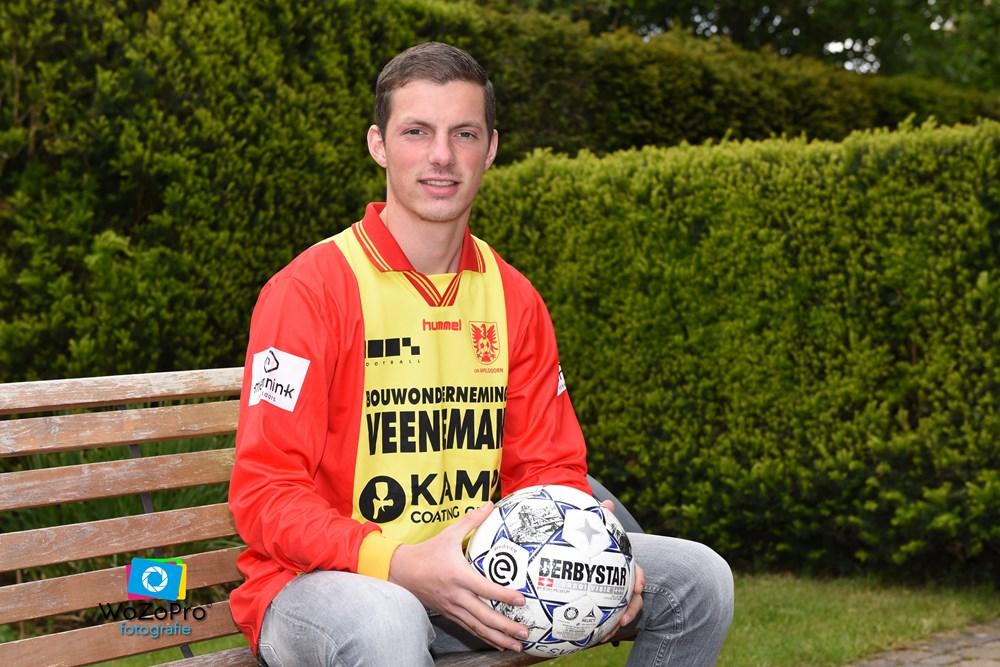 Niek Meijer speelt komend seizoen voor csv Apeldoorn