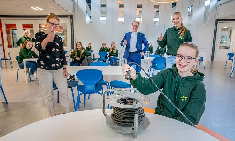 Zonnige scholen wekken energie op