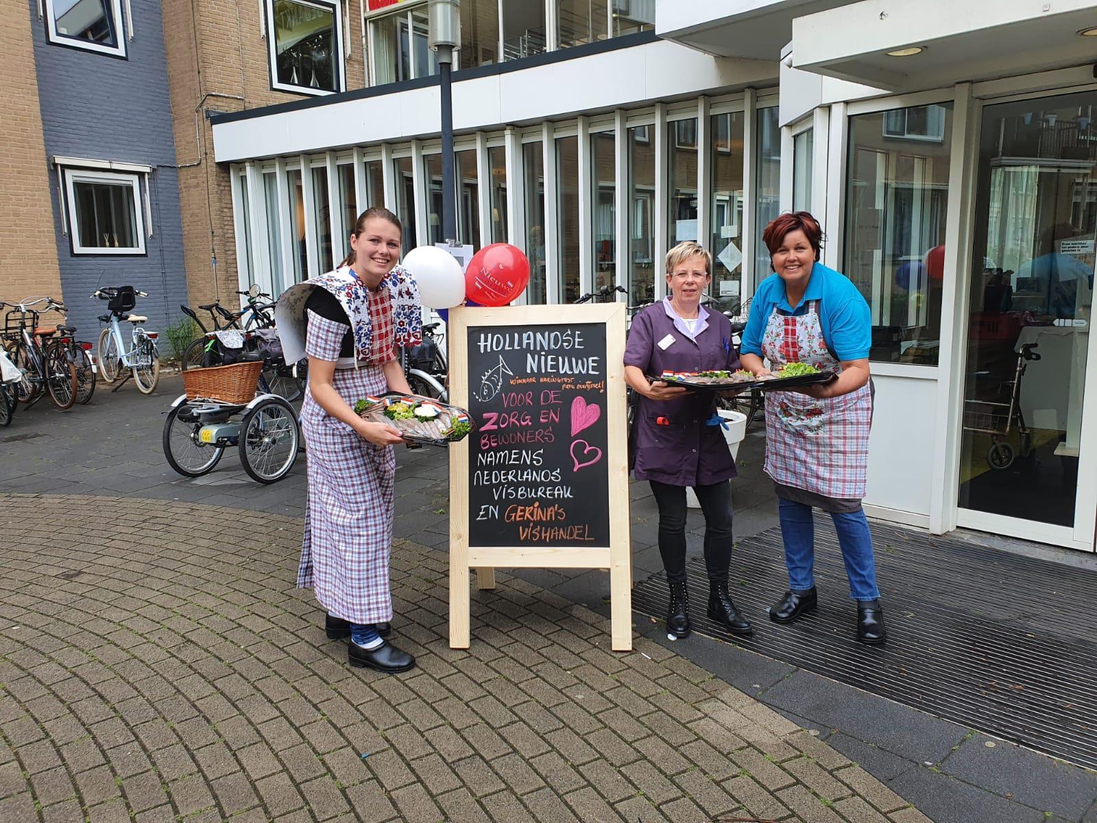 Haring happen voor zorgcentrum Humanitas in Deventer