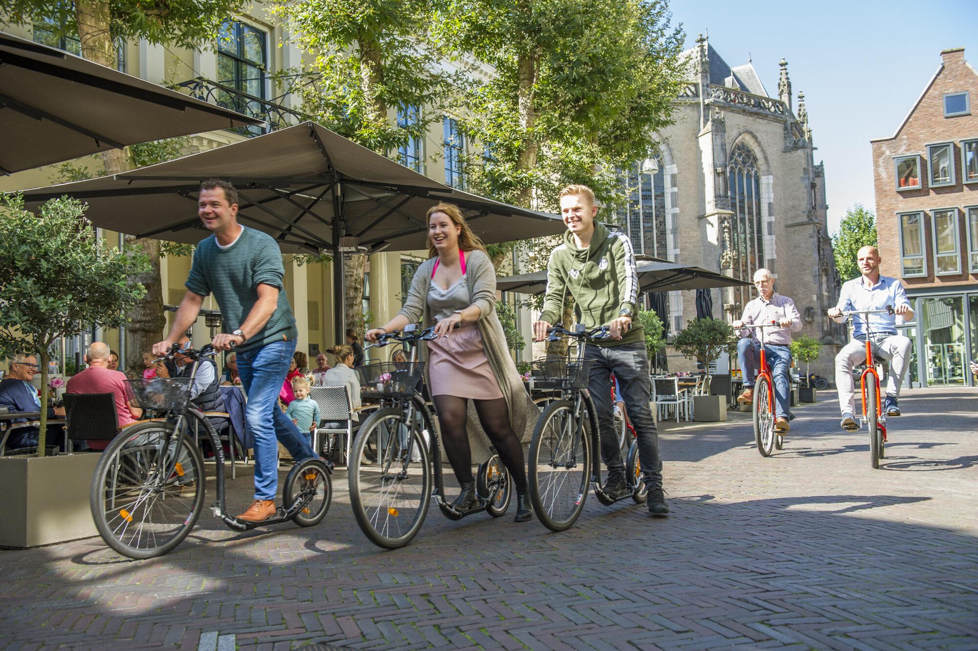 Tip van de Week: Op pad met een step of historische fiets