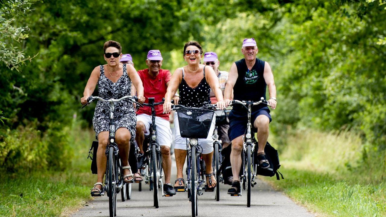 Meepraten over veilige fietsroute