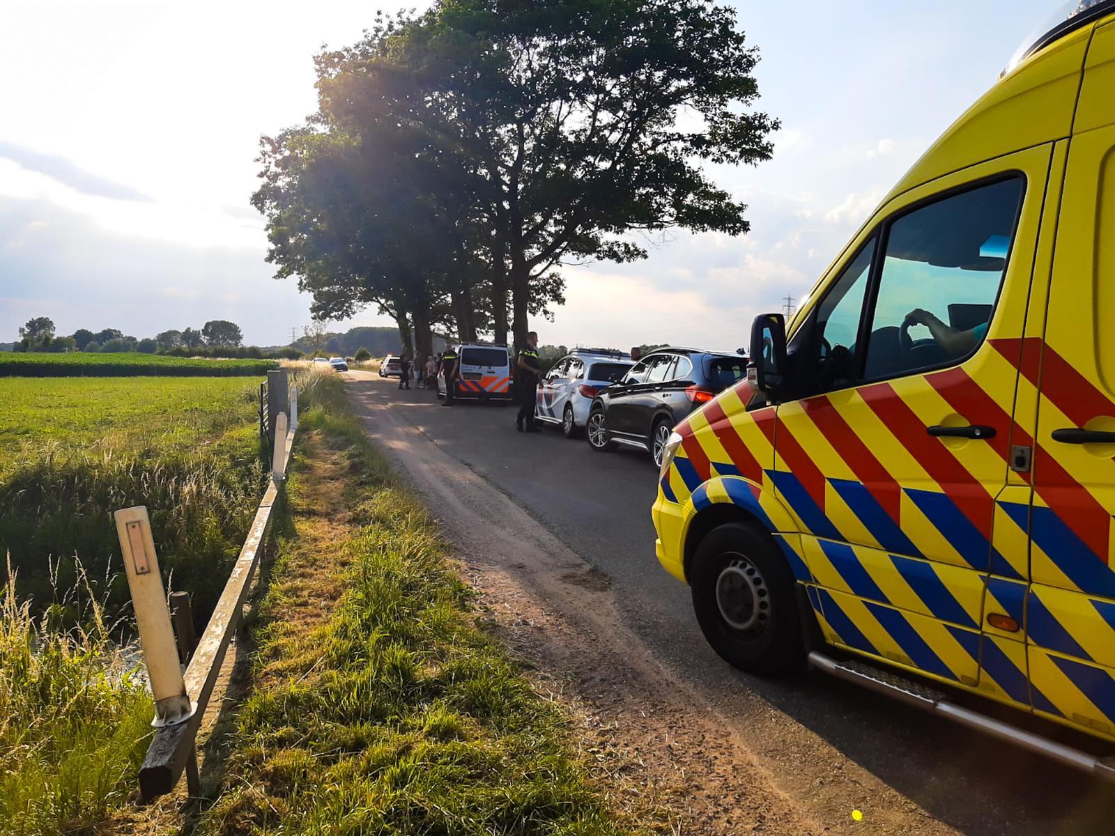 Fietster gewond na ongeval in buitengebied Empe.