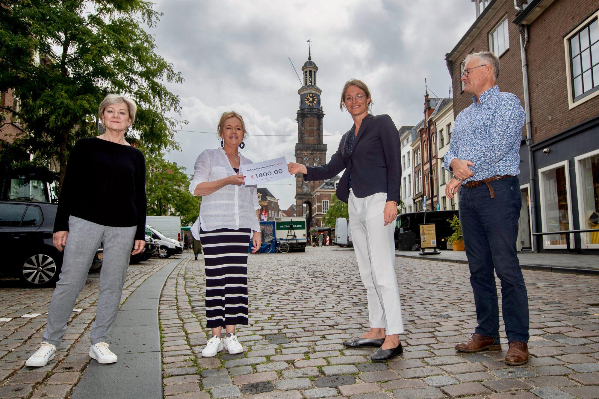 Wijnhuisfonds laat carillon langer spelen