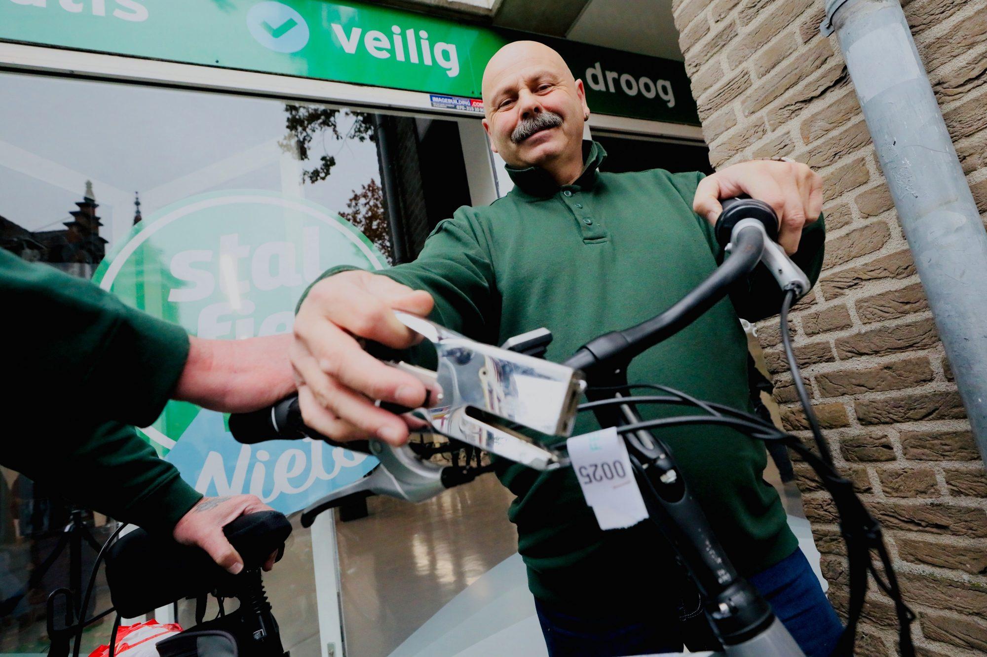 Verbod op 'wildparkeren' fiets