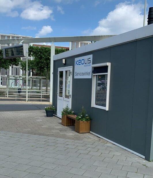 (Nieuwe) servicewinkel Syntus Gelderland opent haar deuren voor reizigers in Apeldoorn