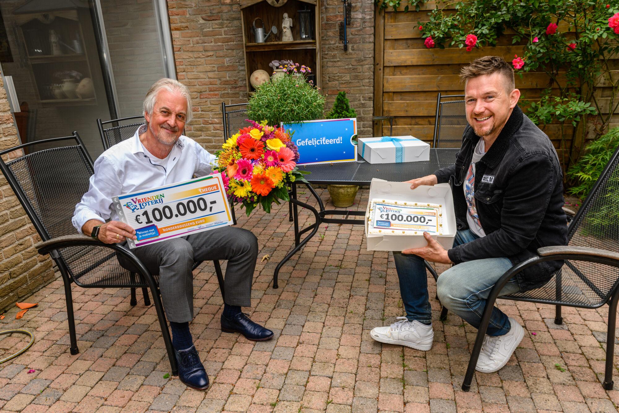 Inwoner Apeldoorn verrast met 100.000 euro