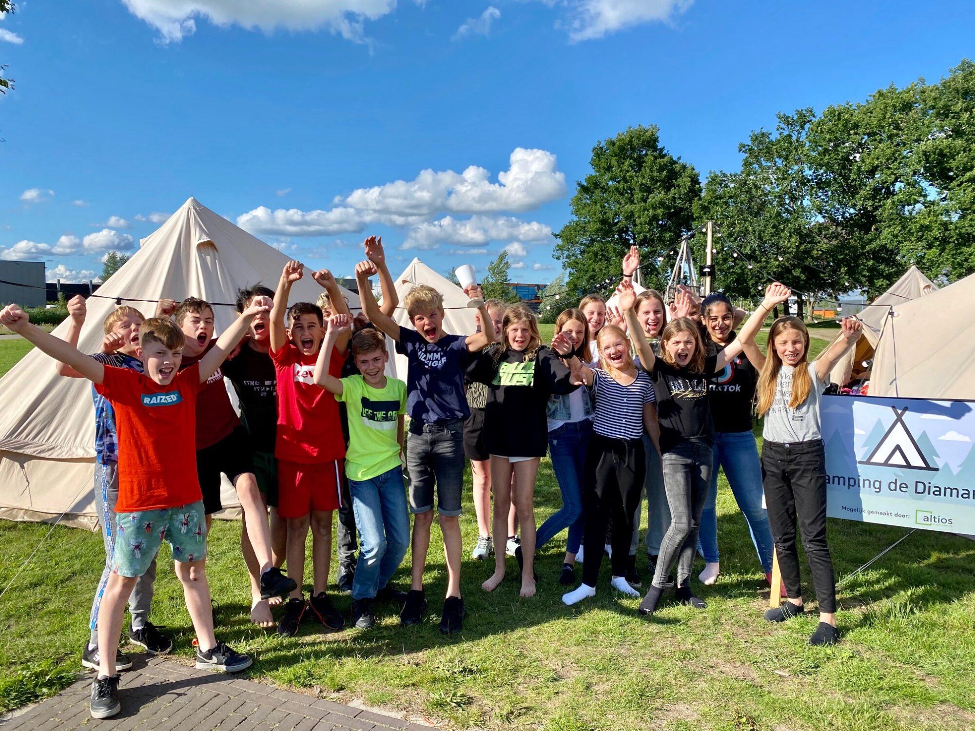 'Geweldige herinnering aan pop-up camping De Diamant'