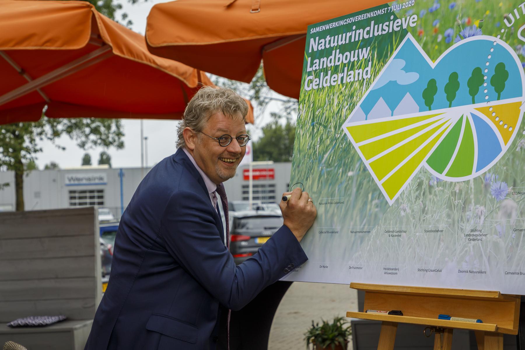 Sterke impuls natuurinclusieve landbouw in Gelderland