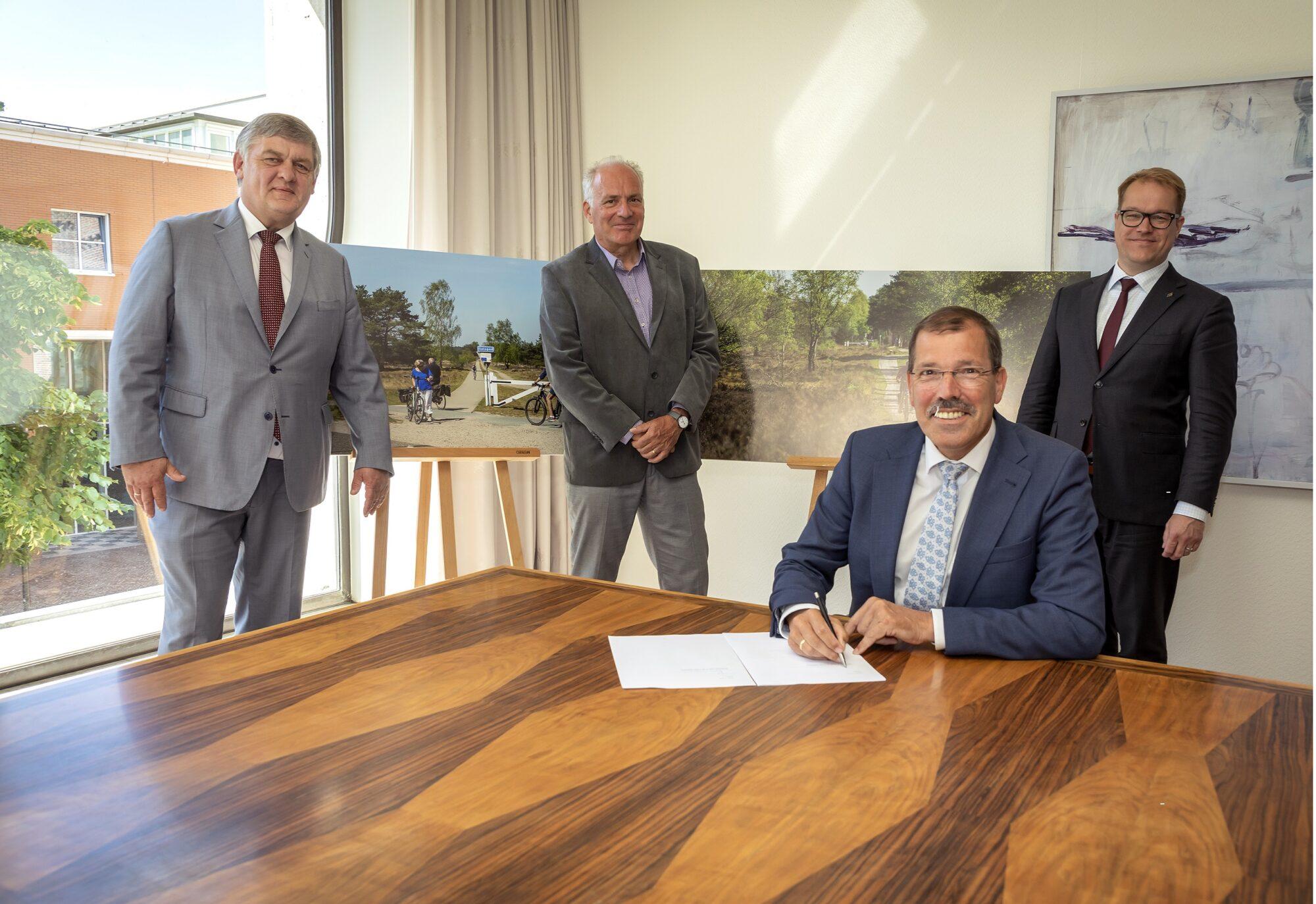 Regio Deal Veluwe: 25 miljoen euro voor projecten