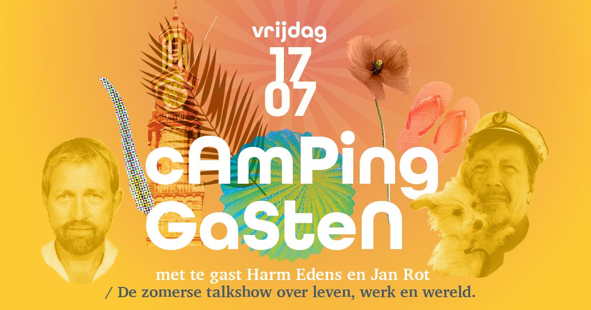 CampingGasten in Theater Hanzehof te Zutphen