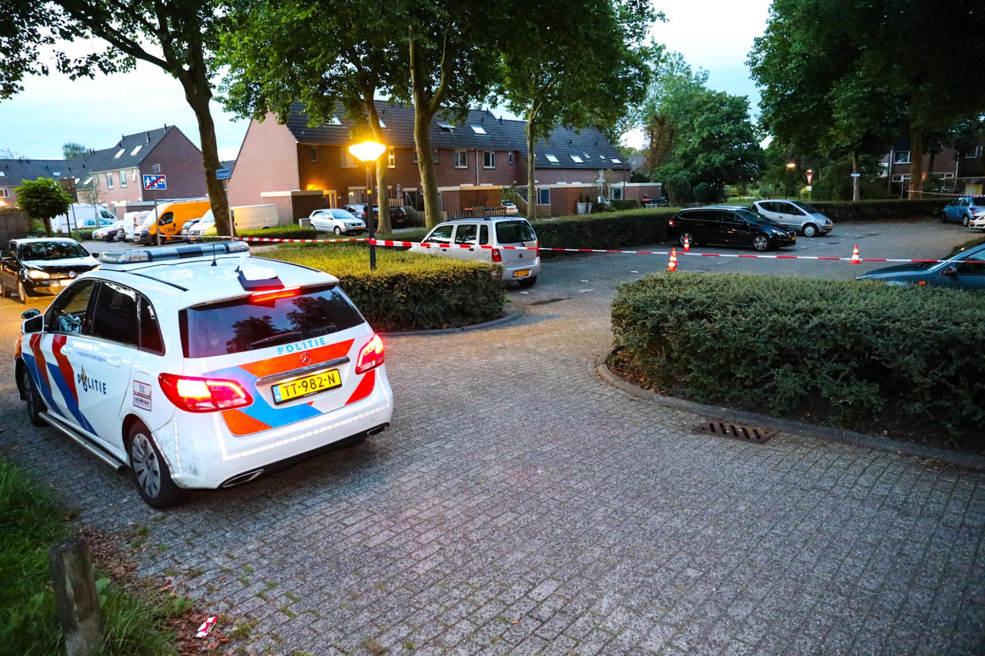 Nachtelijke schietpartij in Apeldoornse wijk de Maten