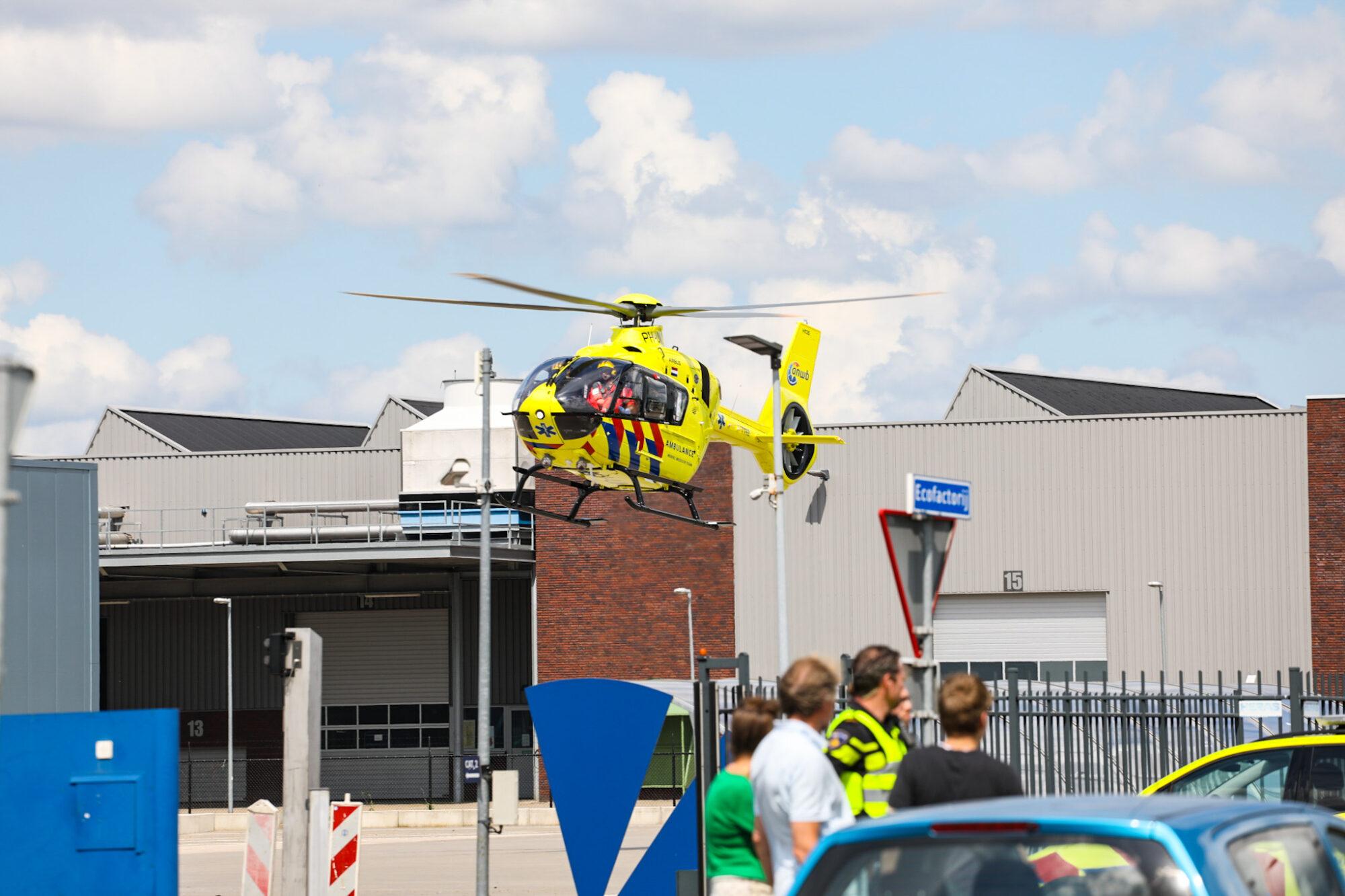Ernstig ongeval op industrieterrein in Apeldoorn