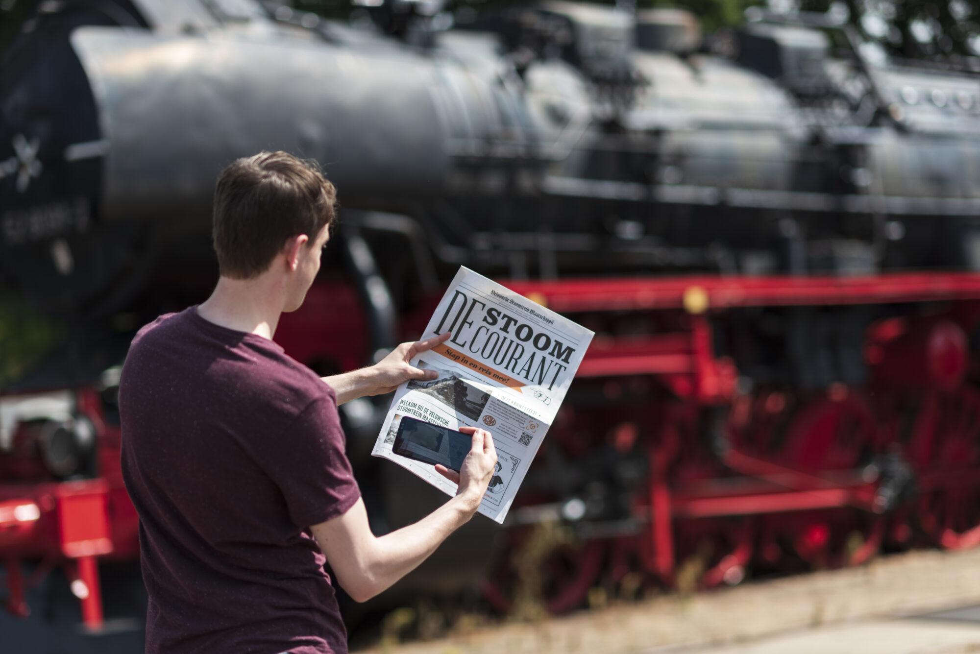 Interactieve StoomCourant brengt industriële Veluwe tot leven