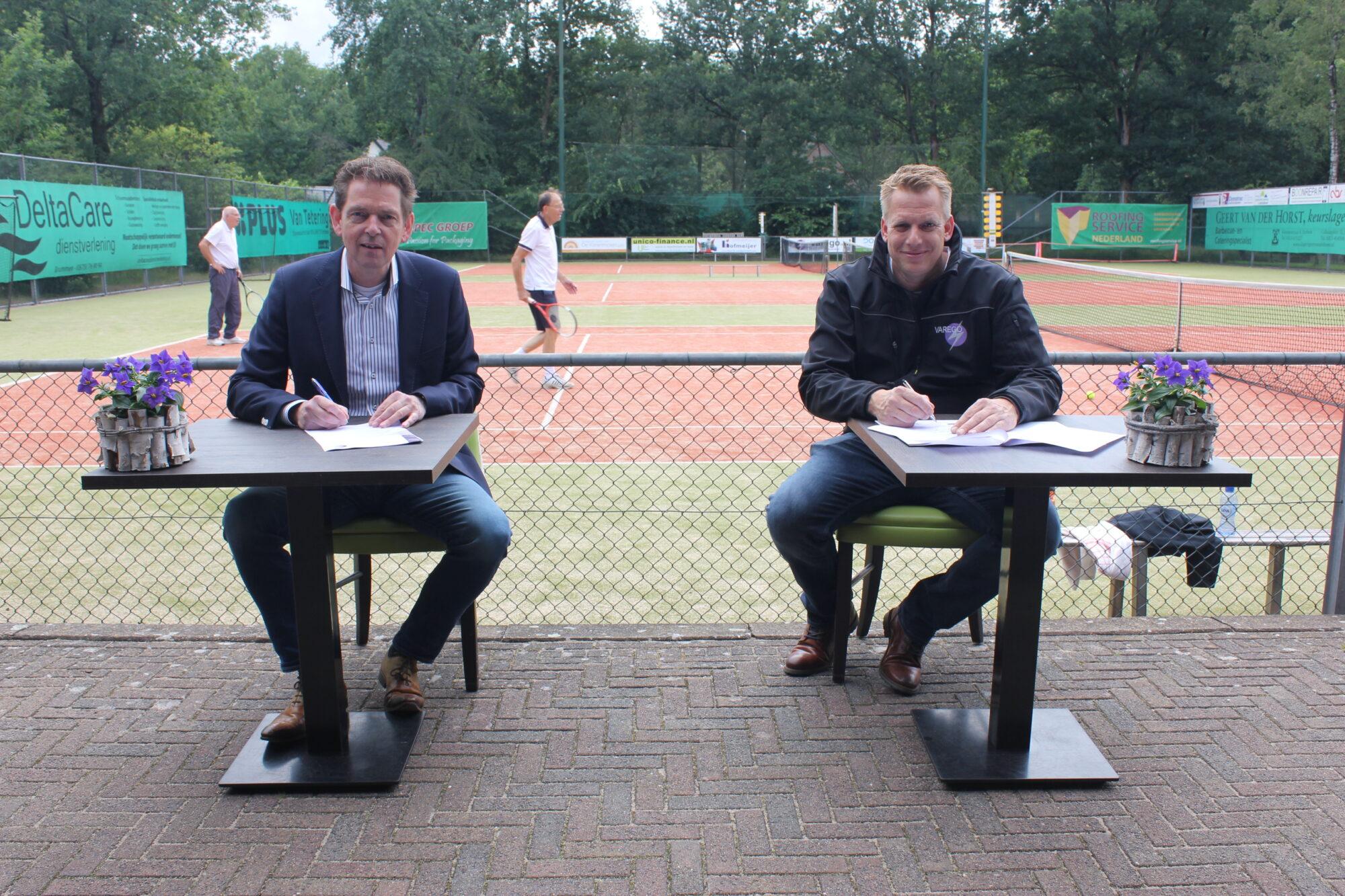 Tennisclub Eerbeek en Varego kiest voor duurzaam