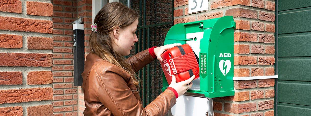 Een AED kan verschil tussen leven en dood zijn