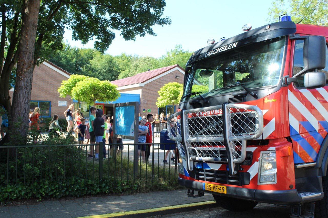 Basisschool de Eloy in Ugchelen tijdelijk ontruimd