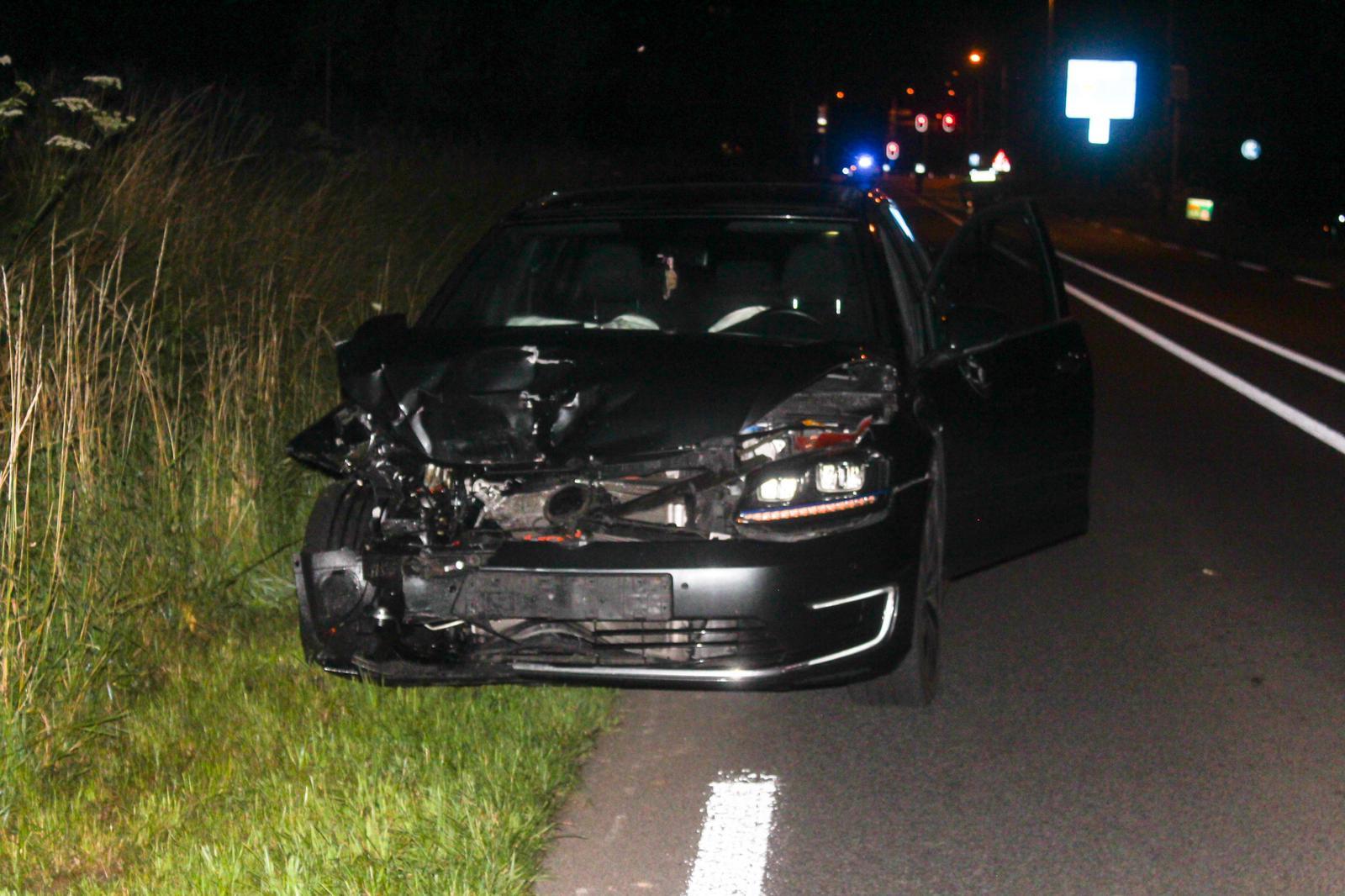 Bestuurder overgebracht naar ziekenhuis na ongeval op Den Elterweg in Zutphen.