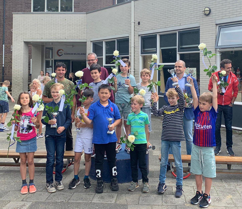 Schakers KWS uit Apeldoorn de besten van Nederland!