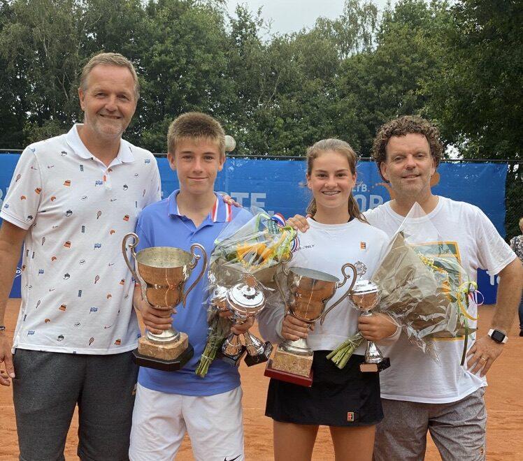 Tennisster Rose wederom beste van Nederland