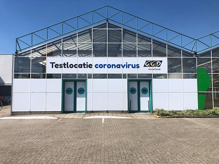 Nieuwe testlocatie coronavirus