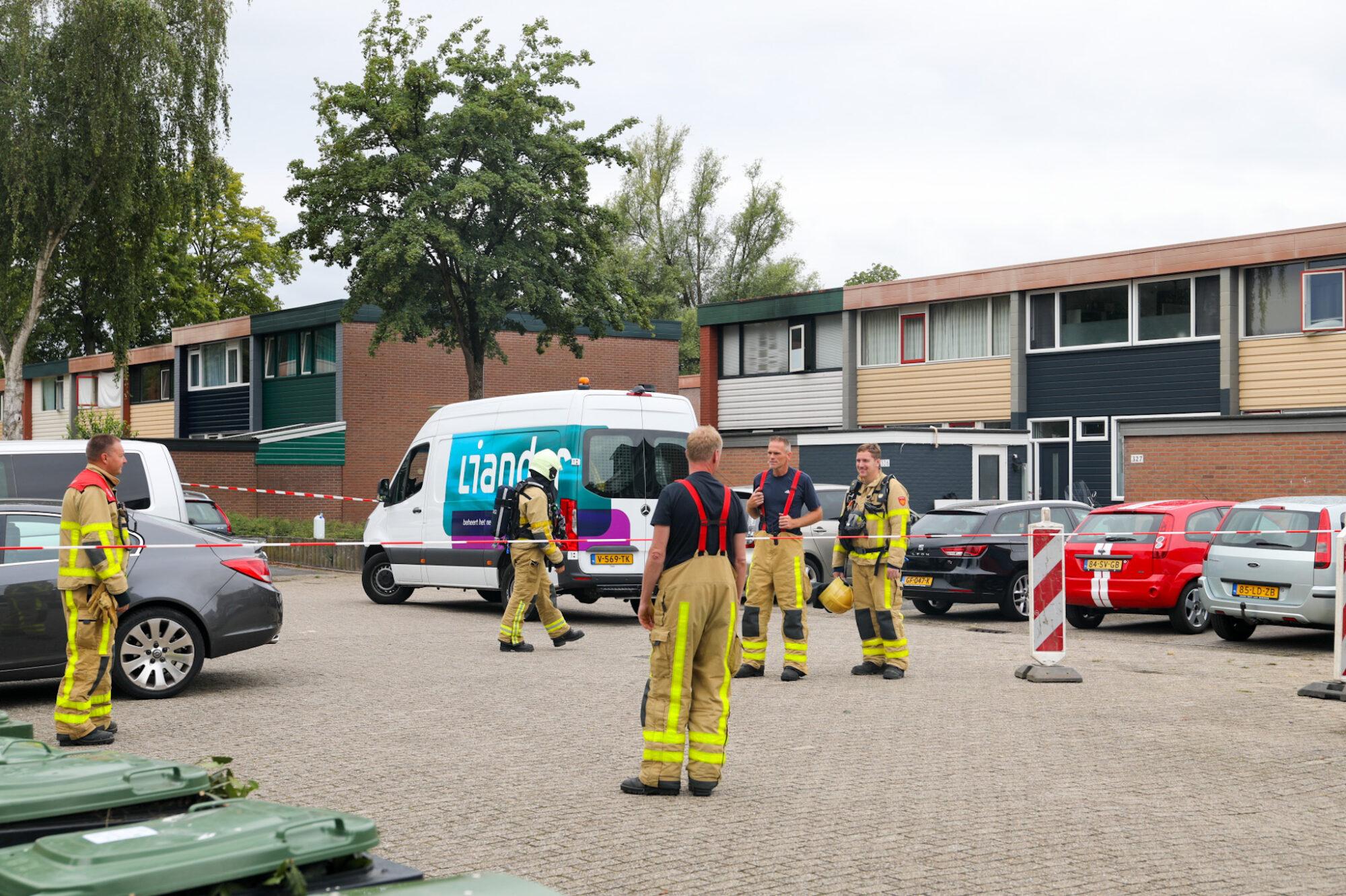 Drie woningen ontruimd na gaslekkage