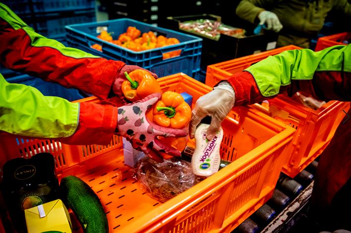 Voedselbanken verwachten flinke groei
